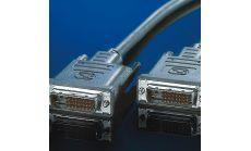 ROLINE 11.99.5555 :: VALUE DVI кабел, DVI M - M, dual link, 5.0 м