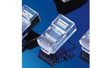 ROLINE 12.01.1087 :: UTP накрайник, RJ-45 8/8, за кръгъл кабел, 10 бр.
