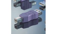 ROLINE 12.03.2930 :: USB Gender Changer A/F към B/M