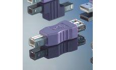 ROLINE 12.03.2930 :: USB Gender Changer A/F към B/M