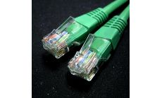 ROLINE 21.15.0523 :: UTP Patch кабел Cat.5e, 0.5 м, AWG24, зелен цвят