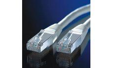 ROLINE 21.99.0305 :: S/FTP Patch кабел Cat.5e, 5.0 м, AWG26, сив цвят
