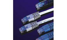 ROLINE 21.99.0101 :: FTP Patch кабел Cat.5e, 1.0 м, AWG26, сив цвят