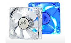 DeepCool Вентилатор Fan 80mm Blue LED Xfan 80L - 1800rpm Deepcool светещ вентилатор с син диод, 80x80x25mm, 1800 оборота в минута, 20 dB(A)