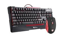 Геймърски комплект клавиатура и мишка Gaming Combo Set Keyboard + Mouse - CX55 - US layout