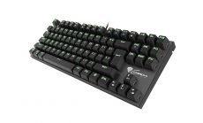 Natec Genesis Геймърска клавиатура Mechanical keyboard 87 keys THOR 300 TKL GREEN BACKLIGHT NKG-0945
