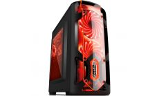 Кутия Case mATX POLARLGH-BK - Polar Light Black- USB3.0/2x120mm fans