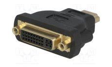 VCom Адаптер Adapter HDMI M/DVI-D F 24+1 - CA311