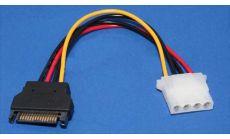 Адаптер Adapter SATA Power M / Molex 4pin - CE359