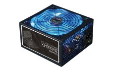 Zalman Захранване PSU 500W 80+ Blue Led Fan 140mm - ZM-500TX