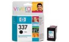 HP 337 Black Inkjet Print Cartridge, HP PS 2575 AiO, PS 8250, DJ 5940