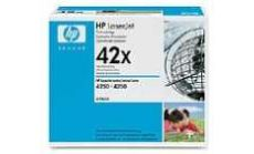 HP LaserJet Q5942X Dual Pack Black Print Cartridge for LJ 4250/4350, up to 20,000 pages each (2xQ5942X)