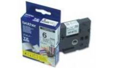 Brother TZ-211 Tape Black on White, Laminated, 6mm Eco
