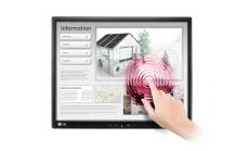 "LG 17MB15T-B, 17"" 5:4 TFT LCD Anti-Glare , LCD, 5 ms, 5,000,000:1 (DFC), 1000:1 (Native), 250cd, 1280x1024, Touch-Screen, D-SUB, USB, Black"