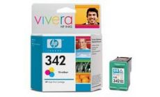 Консуматив HP 342 Standard Original Ink Cartridge; Tri-Color;  Page Yield 220; HP DeskJet D4160 5440 1507 1510 6305 6310 6315 2575 C3170 C3180 C3190 C4180  C4190 7850