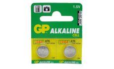 Бутонна алкална батерия GPА76 LR-44/ 10 бр./pack  цена за 1 бр./ 1.55V  GP