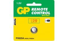 Алкална батерия GP LR9 625A 1,5V  за глюкомери и дистанционни