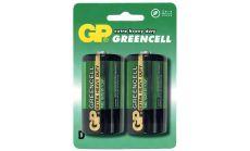 Цинк карбонова батерия R20 /2 бр. в опаковка/  shrink 1.5V GP