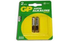 Алкална батерия 1.5V AAAA LR61- 2бр. в опаковка GP