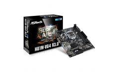 ASROCK Main Board Desktop iH81 (S1150, 2xDDR3 1600,1xPCI-E2.0x16,1xPCI-E2.0x1 2xUSB3.0,SATA III,GLAN,5.1ch,) mATX Retail