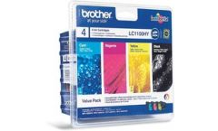 Blister BROTHER High Multipack Pack B/C/M/Y (Approx. 750 A4 pages in accordance with ISO/IEC 24711)