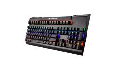 COUGAR Ultimus Gaming Keyboard, US layout,Red,Game type FPS/MMORPG/MOBA/RTS,Polling rate 1000Hz/1ms,Steel Structure,Mechanical Switch, Interface USB plug,Full Key Backlight Multi color effects