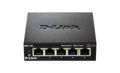 5-Port Gigabit Ethernet Metal Housing Unmanaged Switch
