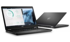 "Dell Latitude 5480 14"", Core i7-7600U, 8GB DDR4, 256GB SSD, no ODD, Backlit Keyboard US, GbE, Intel 8265 (802.11ac) W/ Bluetooth, Intel HD 620, FHD (1920x1080) AG w/720p HD Cam, HDMI, VGA, Black, Win 10 Pro, 3Yr NBD"