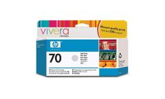 Консуматив HP 70 Standard 1-Pack Original Ink Cartridge; Light Grey 130 ml;  ; HP DesignJet Z2100, Z3100, Z3200, Z5200, Z5400