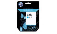 Консуматив HP 728 Standard 1-Pack Original Ink Cartridge; Cyan;  ; HP DesignJet T730, T830