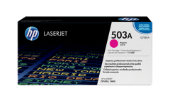 Консуматив HP 503A Original LaserJet cartridge; magenta; 6000 Page Yield ; 1 - pack; CLJ 3800/CP3505