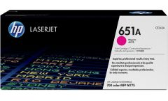 Консуматив HP 651A Original LaserJet cartridge; magenta; 16000 Page Yield ; 1 - pack; CLJ Enterprise 700 color MFP M775