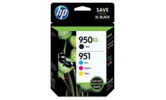 Консуматив HP 950X/951XL Combo 4Pack Original Ink Cartridge; C/M/Y/K;  Page Yield 2300/1500/1500/1500; HP OfficeJet  7110; 7510; 7612; 6100 ; 6700