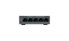 Суич Netgear GS305, 5 x 10/100/1000 Gigabit Switch (metal case)
