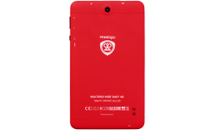 """Prestigio Wize 3407 4G, 7"""" WXGA(600*1024)IPS display, Single SIM, have call function, Android 5.1, 1.3GHz quad core, 1GB DDR, 8GB Flash, 0.3MP front + 2MP rear camera, 2800mAh Battery, color/Coral"""
