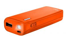 TRUST Primo Power Bank 4400 Portable Charger - Orange