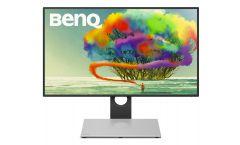 "BenQ PD2710QC, 27"" Wide IPS Ant-Glare, 5ms GTG, 1000:1, 20M:1 DCR, 350 cd/m2, 2560x1440 QHD, 100% sRGB, HDMI, DP, USB-C Docking, Height Adjustment, Pivot, Black&Silver"