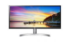 "LG 29WK600-W, 29"" UltraWide AG, IPS Panel, HDR 10, 5ms, Mega DFC, CR 1000:1, 300 cd/m2, 21:9, 2560x1080, sRGB over 99% , HDMI, DisplayPort, FreeSync, Speaker Maxx Audio 5W*2, Tilt, Headphone Out, Black"