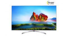 "LG 65SJ810V, 65"" SUPER UHD ELED 3840x2160, DVB-T2/C/S2, 2800PMI, Nano Cell, Active HDR Dolby Vision, 360 VR, Smart webOS 3.5, Ultra Luminance, Local Dimming, WiDi, WiFi 802.11.ac, BТ, Miracast, DLNA, LAN, CI, HDMI, USB, TV Recording Ready, Harman kar"