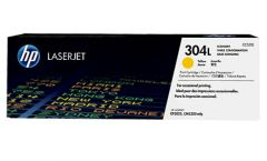 HP 304L Economy Yellow Original LaserJet Toner Cartridge (CC532L)