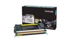 Lexmark C748 Yellow High Yield Return Program Toner Cartridge
