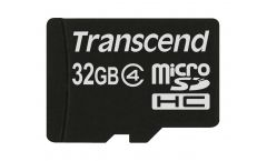 Памет Transcend 32GB micro SDHC4 Class 4 (NoBox & Adapter)