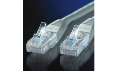 ROLINE 21.99.0515 :: UTP Patch кабел Cat.5e, 15.0 м, AWG24, сив цвят