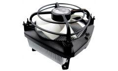 Arctic Охлаждане Alpine 11 Pro Rev2 - PWM/LGA775/LGA1155 Охладител за процесор INTEL 1155, 1156, 775 с подръжка и на най-мощните модели, с 4 пинов PWM конектор и управление на оборотите за максимална тишина