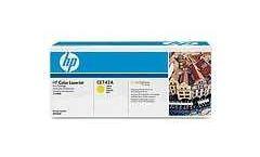 HP Color LaserJet CE742A Yellow Print Cartridge