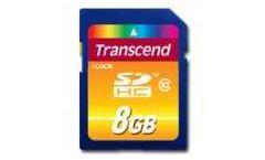 Transcend 8GB SDHC (Class 10)