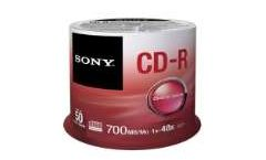 Sony CDR 48x 50pcs spindle