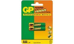 Акумулаторна Батерия R03 AAA 1000mAh NiMH 2 бр. в опаковка GP