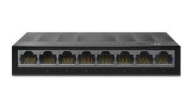 Комутатор TP-LINK LS1008G, 8-порта 10/100/1000Mbps, неуправляем, настолен