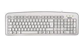 Стандартна клавиатура К210,бяла, USB